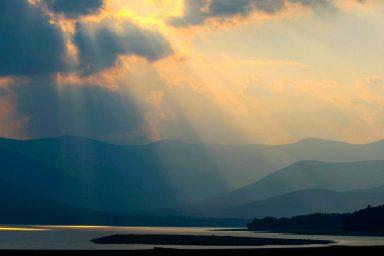 The Ashokan Reservoir in Kingston is New York's largest reservoir.