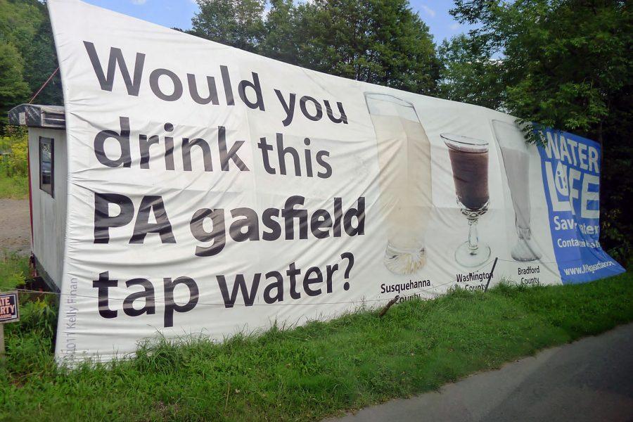 PA gasfield tap water