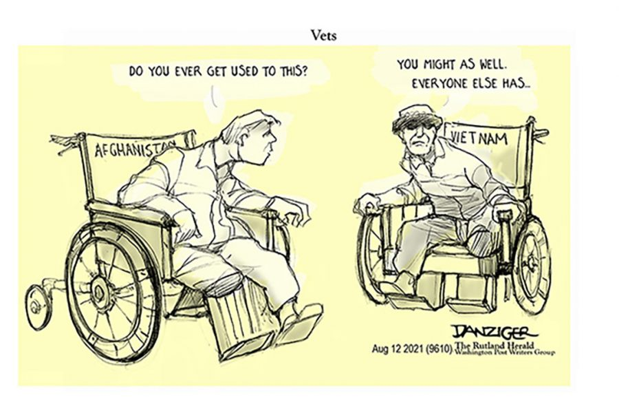 Jeff Danziger, disabled vets