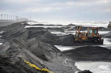 Barrow, AK, sea ice, erosion